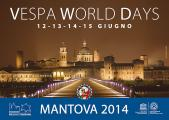 Vespa World Days 2014 in Mantova Plakat