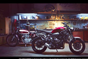 2018 Yamaha XSR700 Born Tomorrow