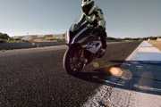 BMW HP4 Race Stoppie