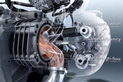 BMW R 1200 GS Motor in Slow Motion