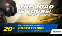 The Road is Yours 20 Euro Gutschein