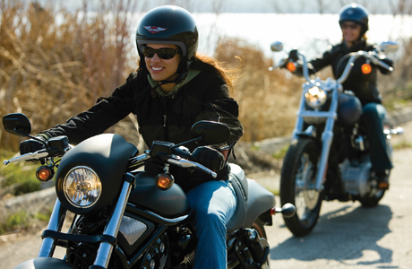 Harley-Davidson Woman Ride