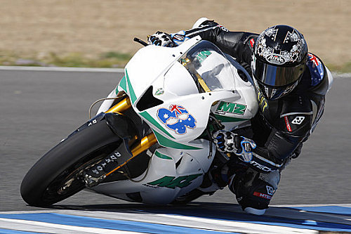 Moto2 Anthony West auf MZ