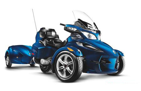 2010 Can Am Spyder RT mit Trailer