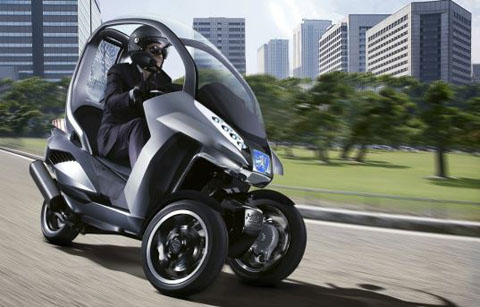 Peugeot Hybrid Scooter - Hymotion