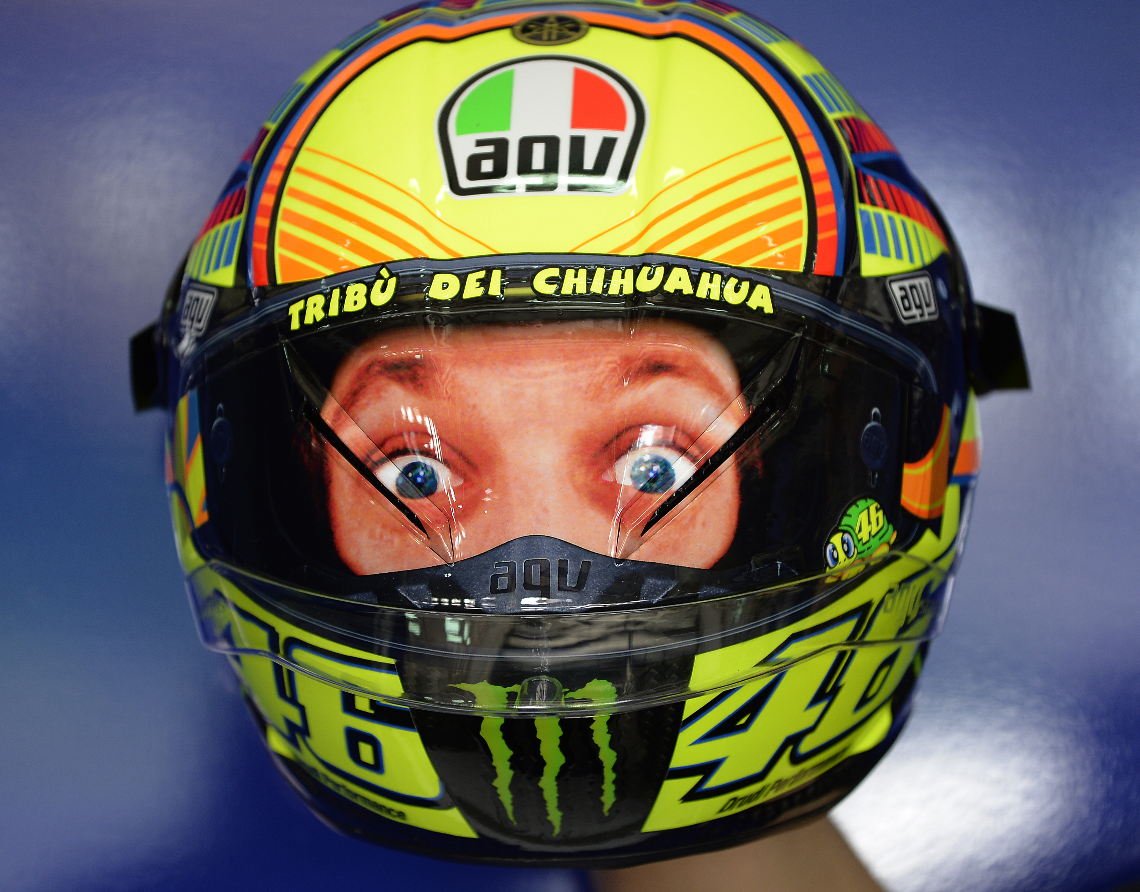 agv corsa helm valentino rossi ab juni motofreak the. Black Bedroom Furniture Sets. Home Design Ideas